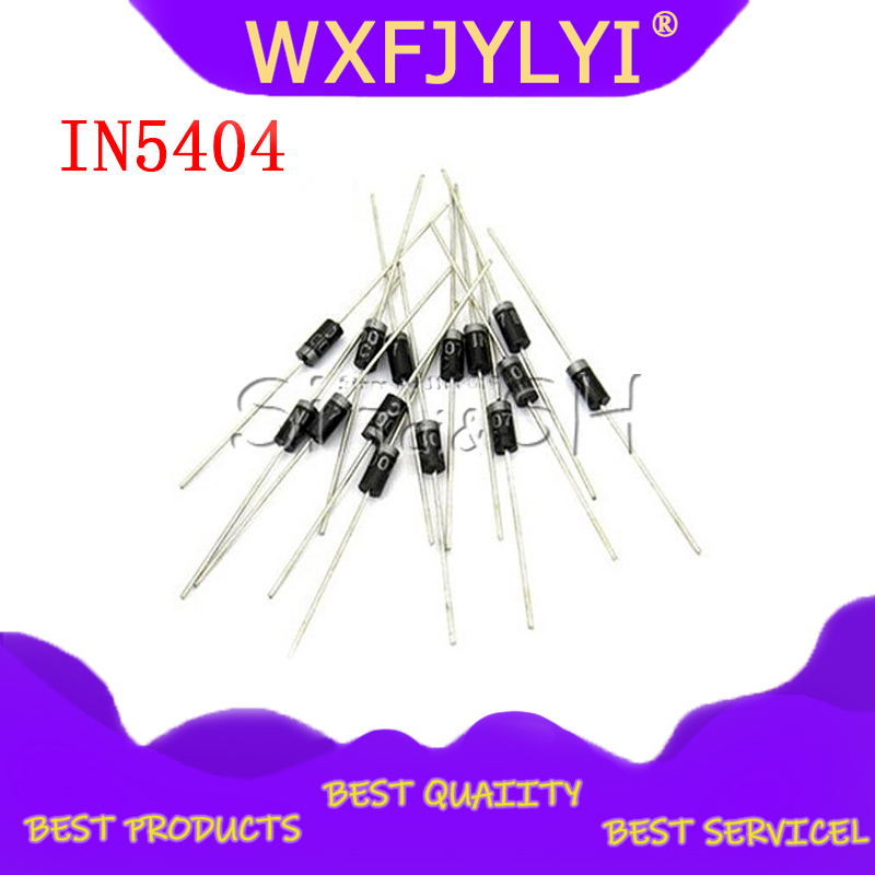 20PCS Rectifier <font><b>Diode</b></font> IN5404 <font><b>3A</b></font> 400 v DO-27 1N5404 image