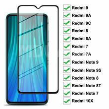 Szkło ochronne 9D do Xiaomi Redmi 9 9A 9C 8 8A 7 7A 10X hartowane szkło ochronne Redmi Note 7 8 8T 9S 9 Pro Max szkło tanie tanio MDUAUS CN (pochodzenie) Przedni Film Redmi Note 9S Redmi 7 Redmi uwaga 7 Redmi Note 8 Pro Redmi 8 Redmi 7A Redmi 8A Redmi 9C
