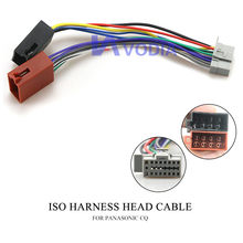15-105 auto ISO Harness Kopf Kabel für PANASONIC CQ Stereo Radio Wire Adapter Stecker Verdrahtung Stecker Kabel(China)