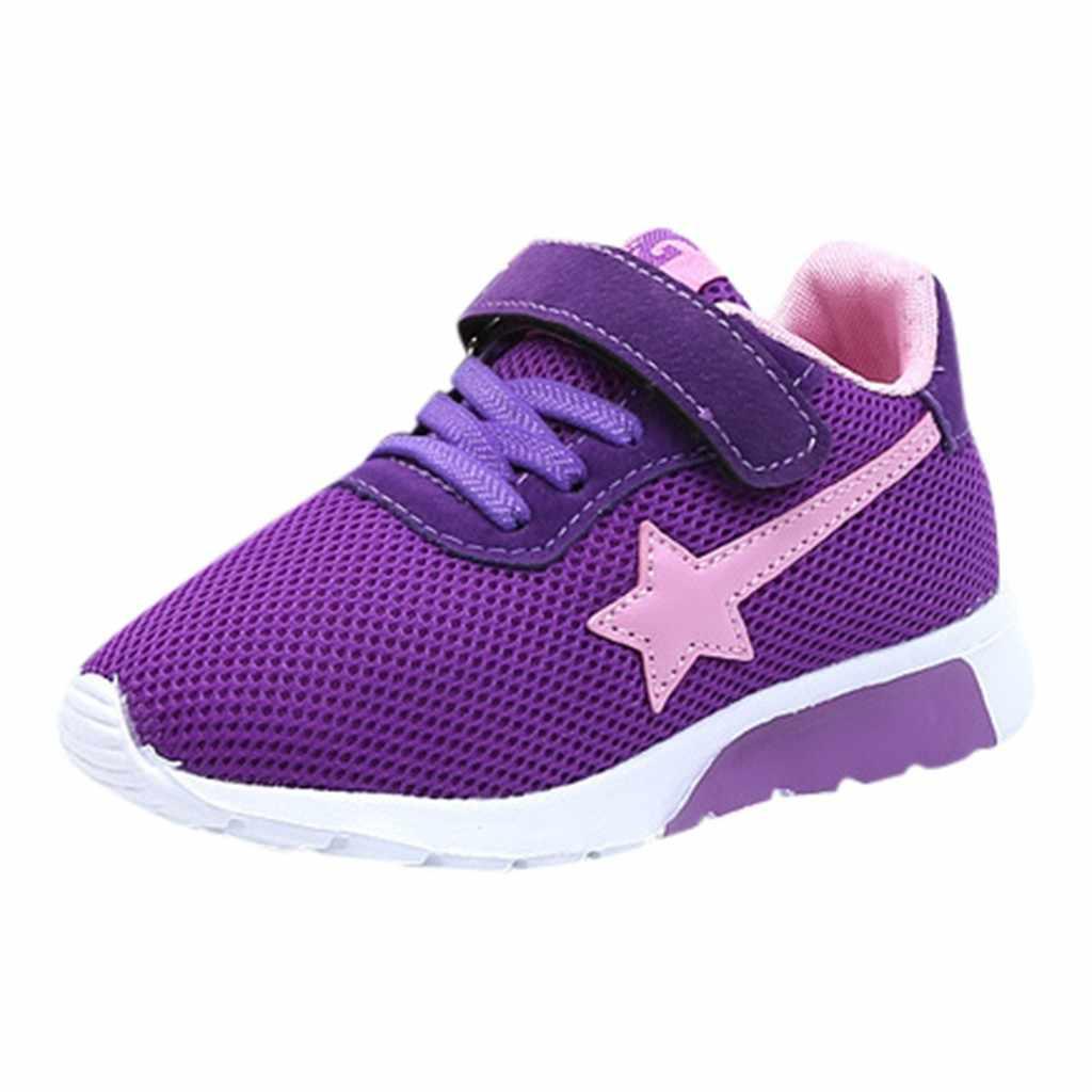 ילדי נעלי ילדי ילדים בני בנות כוכב רשת לנשימה ספורט ריצת סניקרס נעלי ילדי נעלי детская обувь zapatos niña