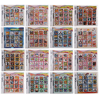 All In 1 Compilation Video Game Cartridge Card For Nintendo DS Super Combo Multi Cart