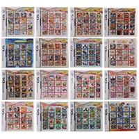 Tout en 1 Compilation jeu vidéo cartouche carte pour Nintendo DS Super Combo Multi panier