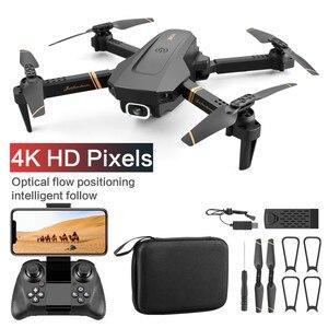 Image 5 - V4 Rc الطائرة بدون طيار 4k HD زاوية واسعة كاميرا 1080P واي فاي طائرة بدون طيار fpv كاميرا مزدوجة كوادكوبتر في الوقت الحقيقي نقل ألعاب هليكوبتر