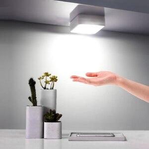 Image 5 - WAKYME LED Motion Sensor Night Light Cabinet Light Cupboard Wardrobe Bedroom Lamp UV Sterilizer Disinfection Lights UVC Lamp
