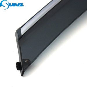 Image 3 - smoke Car Side Window Deflectors For CHERY Arrizo 3 2015 2016 2017 2018 Sun Shade Awnings Shelters Guards accessories SUNZ