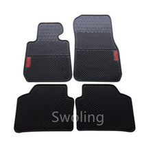 SJ Custom Fit ALL Weather Car Floor Mats Front & Rear FloorLiner Auto Parts Foot Pads Anti-slip Carpet For BMW X3 2011 2012 2013(China)