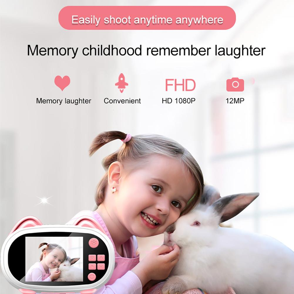 He0e0477d54594fa6b26bb6b697e2551cX 2019 Newest Mini WiFi Camera Children Educational Toys For Children Birthday Gifts Digital Camera 1080P Projection Video Camera