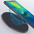 Qi Беспроводное зарядное устройство для iPhone Samsung Xiaomi Huawei Fast Charger10W/QC3.0 портативное быстрое зарядное устройство USB Qi Сертифицированный телефон