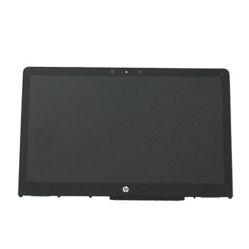 for HP Pavilion x360 15-BR000 15-BR077NR 15.6 Lcd Touch Screen W/Bezel 925711-001digitized panel + LED + frame FHD 1920*1080