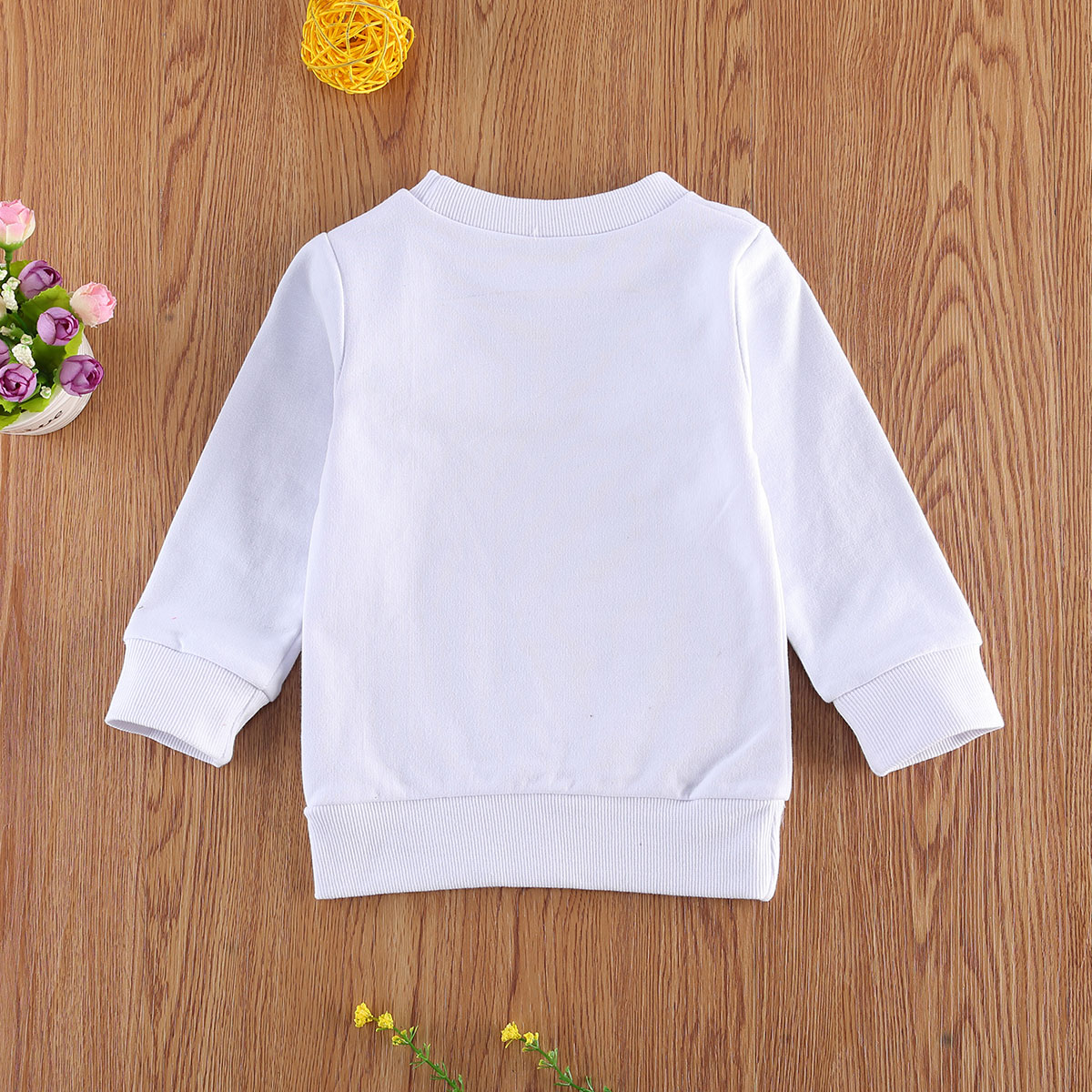 Pudcoco Newest Fashion Newborn Baby Clothes Long Sleeve Letter Print O-Neck Sweatshirt Tops Outfit Clothes For Girl Boy Bbay 2