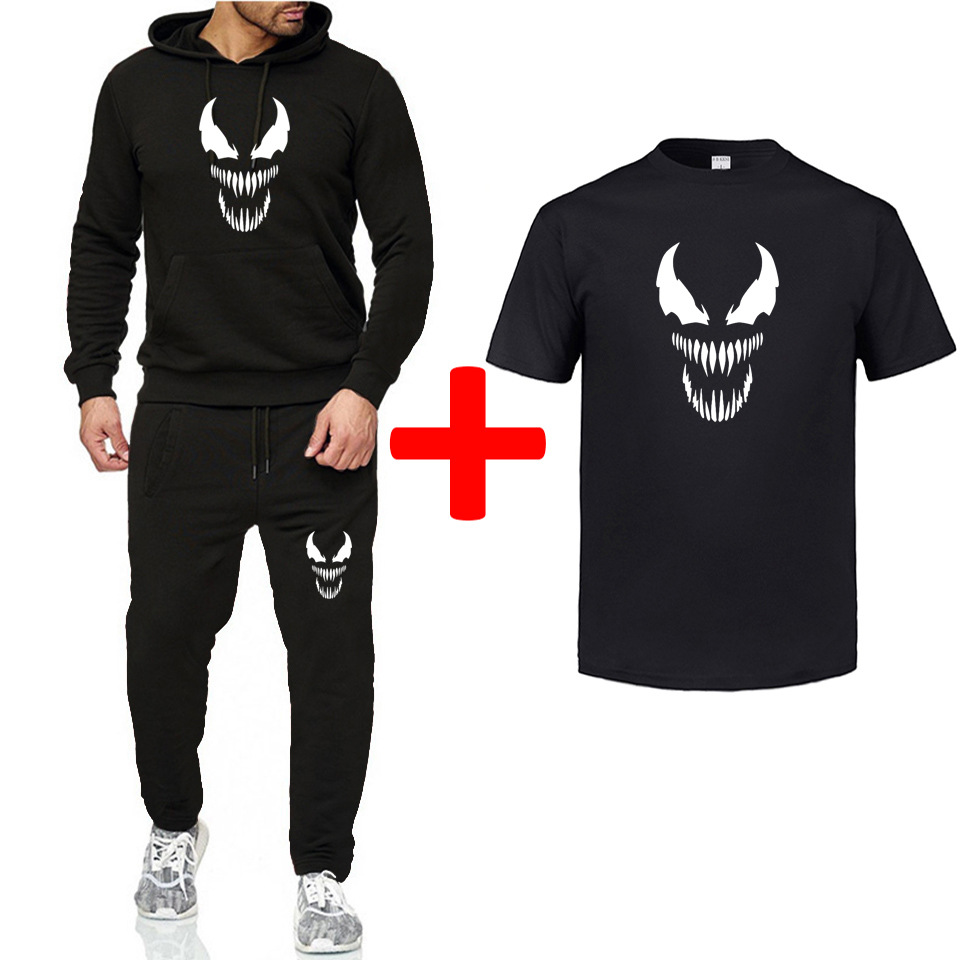 2019 Liverpool Loose Casual Print Set Men And Women Sports Running Two-Piece Fleece Warm Hoodie Men's