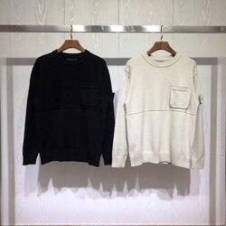 Лучшая версия, коллекция Ghost, компас, логотип, заплатка, Женский Мужской свитер и пуловер, мужские повседневные модные свитера