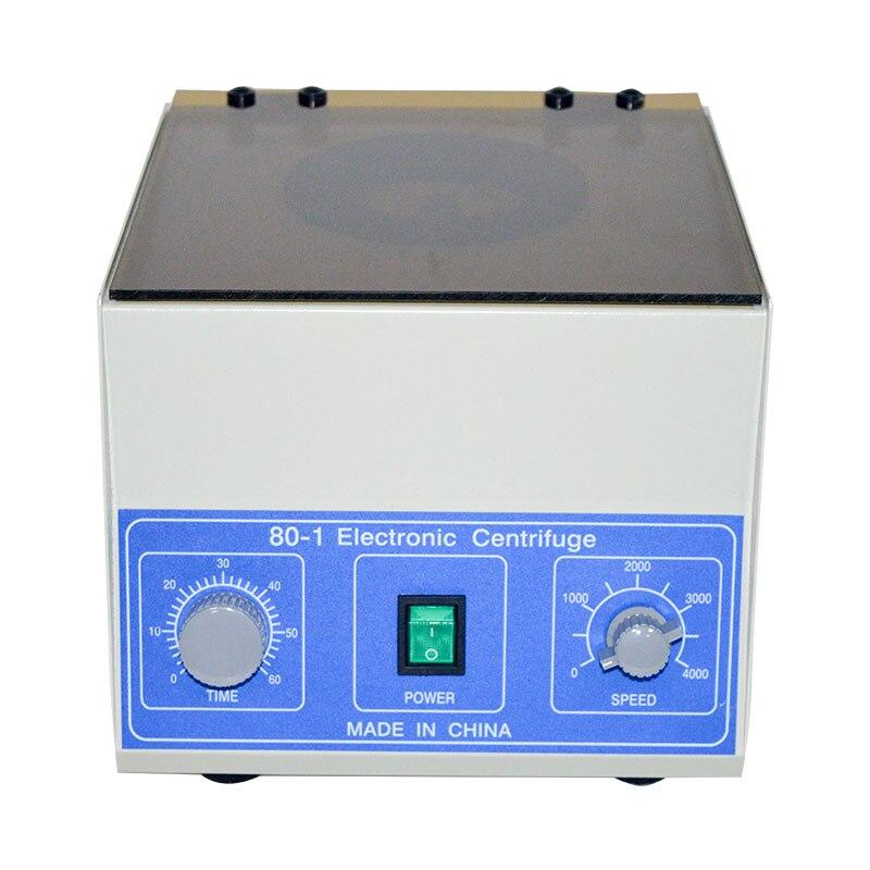 Newest  Desktop Electric Medical Lab Centrifuge Laboratory Supplies Practice 4000 rpm 20 ml x 6 Model 80-1