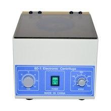 Newest  Desktop Electric Medical Lab Centrifuge Laboratory Lab Supplies Medical Practice 4000 rpm 20 ml x 6 Model 80-1 4000 rpm handheld centrifuge scilogex lx 1000 palm centrifuge mini centrifuge laboratory centrifuge