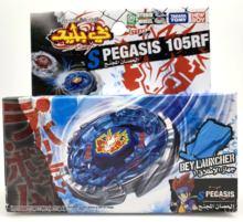 Oryginalny zestaw startowy takara Tomy Storm Pegasis 105RF Beyblade (BB28) tanie tanio Z tworzywa sztucznego Chłopcy bb-28