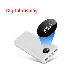DIY QC 3.0 Power Bank Case Quick Charge External Battery 18650 Fast Charger Box Shell Kit Accessories