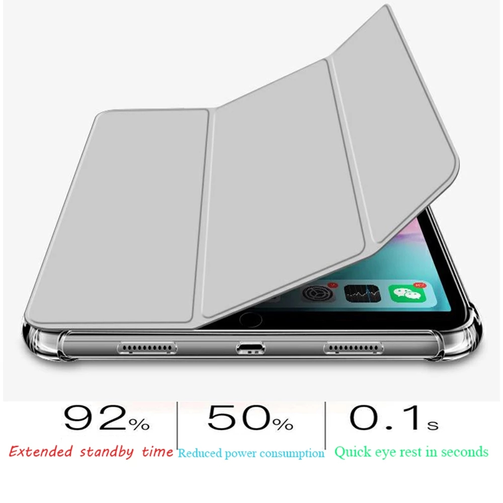 for iPad 2020 Air 4 10 9 inch Airbag Transparent matte soft protection Case For New