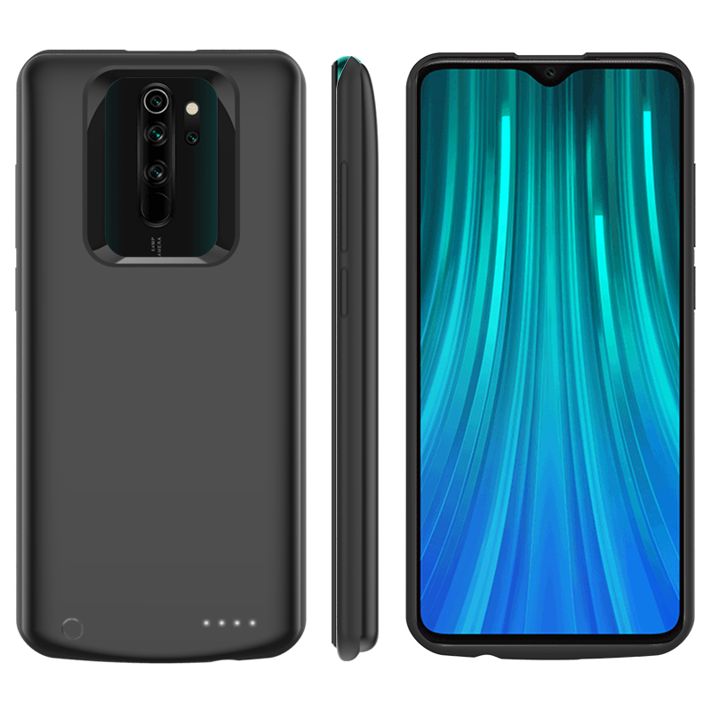 Redmi Note8 Pro 5000mAh Slim Shockproof Battery Charger Case For Xiaomi Redmi Note 8 Pro Backup Power Pack Charger Cover Case