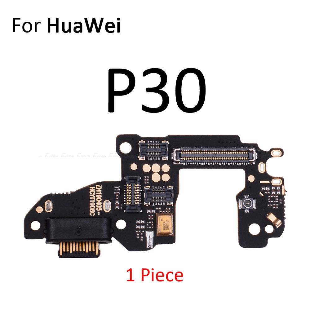 Charging Port Connector Board Parts Flex Cable With Microphone Mic For HuaWei P30 P20 Pro P10 P9 Plus Mini P8 Lite 2017