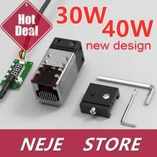 30W/40W Laser Module Kit Laser Head 450nm TTL Module for NEJE Laser Engraver Wood Cutting Tool