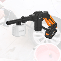 High Pressure Wireless Car Washer Cordless Water Gun Sprayer Mufti Functional Foam Gun For Garden Watering Car Wash