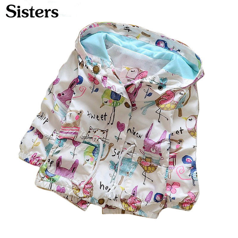 Jacket Baby-Girls Children's Newly-Arrived Flowers Casual-Style Fashion for Outwear