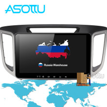 Asottu CIX251060 2G android 8.1 car navigation dvd player 1024*600 For HYUNDAI IX25 CRETA gps stereo car multimedia player dvd(China)