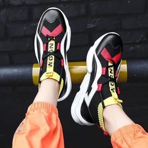 Image 5 - 2020 חדש קלאסי טרנדי אופנה גאות העליונה גרבי נעלי צבע התאמת ספורט מזדמן שטוח שרוכים נעליים יומיומיות גברים של נעליים