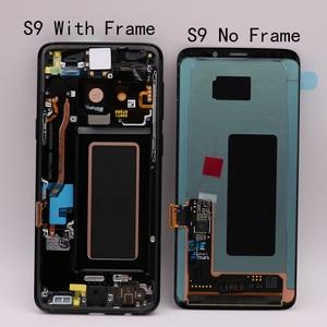Image 4 - Amoled Originale di Ricambio per Samsung Galaxy S9 S9 + Lcd Touch Screen Digitizer con Telaio G960 G965 Display