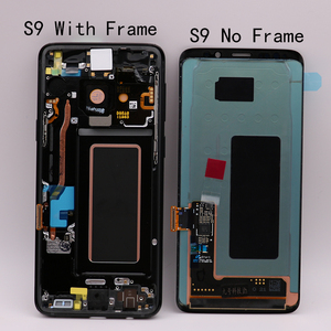 Image 4 - Pièces de rechange d'origine Amoled pour Samsung Galaxy S9, avec écran tactile LCD avec fonction numérisation et cadre d'affichage G960/G965
