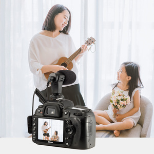 Image 4 - Mamen Telefoon Microfoon Mini Draagbare 3.5 Mm Condensor Telefoon Video Camera Interview Microfoon Met Mof Voor Iphone Samsung Mic