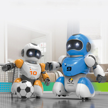 RC Soccer Robot Electric Dancing football Simulation Robots Programable Educational Intelligent remote control Robotic Kids Toys new intelligent rc robot funny indoor outdoor game toys 2 4g dancing battle model toy multi function remote control robots