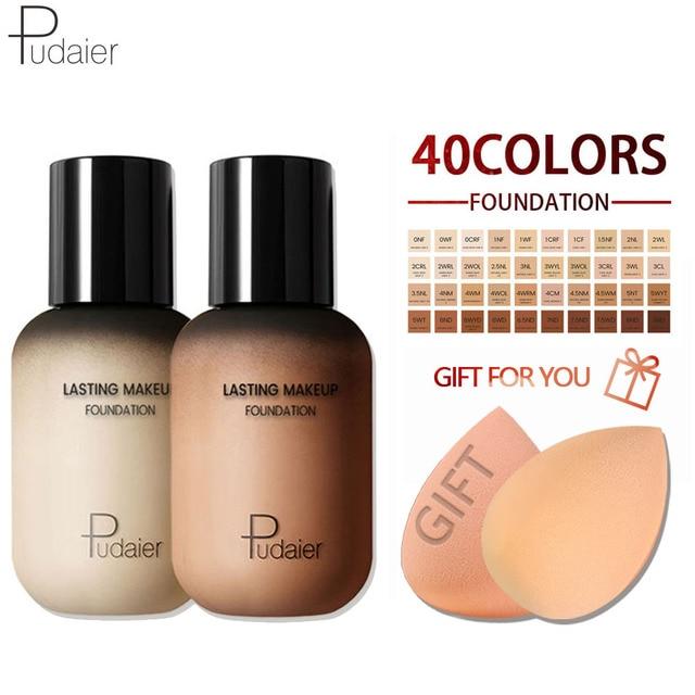 Pudaier Face Foundation Makeup Liquid Foundation Cream Matte Foundation Base Face Concealer Cosmetic Dropshipping Makeup 1