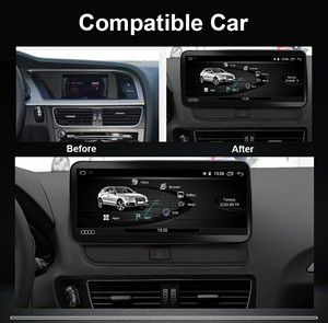"""Image 2 - COIKA 10.25 """"Android 10,0 System Auto GPS Navi Radio Für Audi Q5 2009 2017 IPS Touch Screen Stereo google WIFI BT Musik SWC 2 + 32G"""