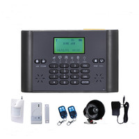 Wireless SMS Home Intelligent GSM Alarm System with LCD screen (BL-6000)