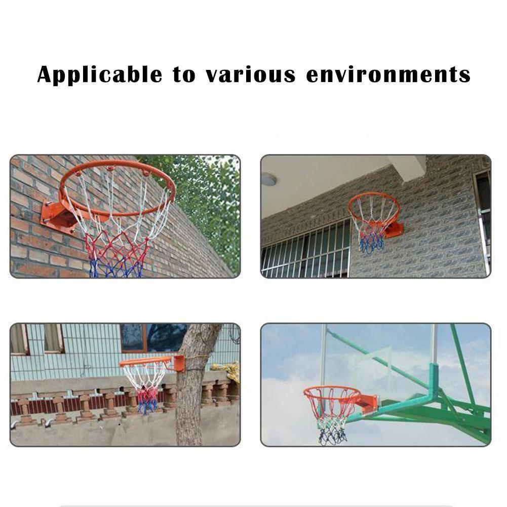 2020 NEW 32CM Indoor And Outdoor Door Frame Basketball Diameter Frame Basketball With Ring Mesh Screw T0Y0