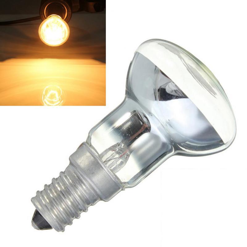 Edison Lamp Bulb Vintage Decor 30W E14 Light Holder R39 Reflector Spot Light Bulb Lava Lamp Incandescent Lamp Home Decoration