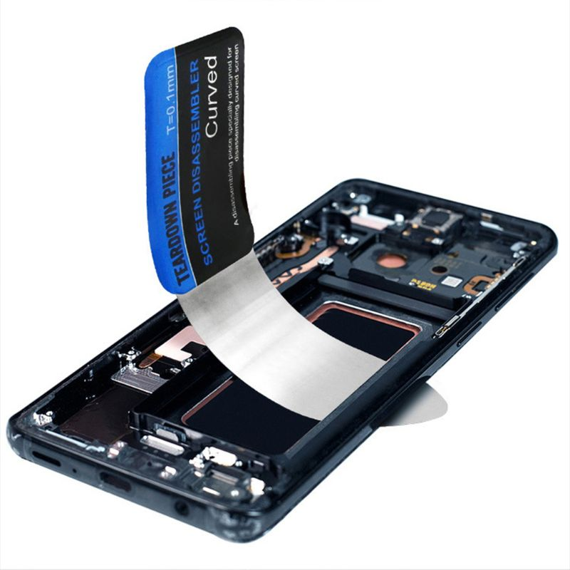 Mobile Phone Curved LCD Screen Spudger Opening Pry Card Tools Ultra Thin Flexible Mobile Phone Disassemble Steel Metal Spudger f