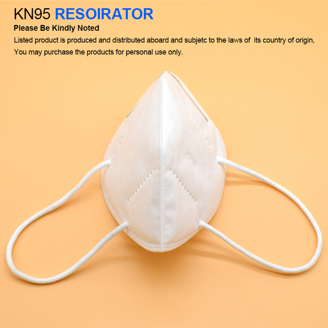 10pcs KN95 mask KN95 protective mask dust mask flu facial template ffp2 Pm2.5 mask 1