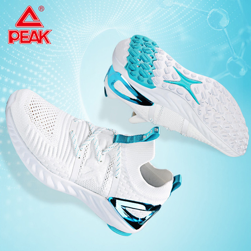 PEAK TAICHI Men Lightweight Running Shoes Shock Breathable Absorbing Sneakers Fashion Casual Sport Technology