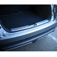 2pcs Stainless Steel Rear Bumper Plate Cover Sill Mouldings For For Mitsubishi Eclipse Cross 2018 2019