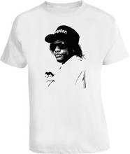 Eazy E Rap Hip Hop Nwa T Shirt Retro Tee Shirt New Fashion Design(China)