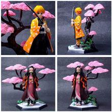 Devil's Blade Anime Figure Kamado Tanjirou Nezuko Demon Slayer Kimetsu No Yaiba PVC Action Figure Collectible Model Toys Dolls папка адресная brand бордовая