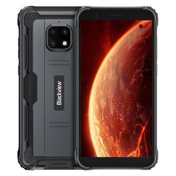Перейти на Алиэкспресс и купить Blackview BV4900 IP68 прочный Водонепроницаемый смартфон 3 ГБ + 32 ГБ 5,7 дюймЭкран 5580 мА/ч, MT6761 Android 10 NFC 4G мобильный телефон с распознаванием лица