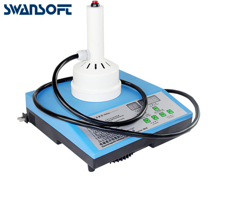 SWANSOFTHand Held Electromagnetic Induction Sealer Glass PET PP Bottle Sealing Machine Microcomputer Aluminum Foil Capper