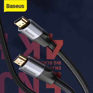 Baseus 4K HDMI к 4K HDMI кабель с одинаковым экраном HD Конверсионный кабель адаптер аудио и видео Syne выходной кабель для проекции HD TV