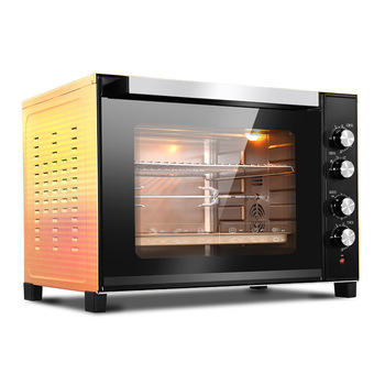 цена на 100L Commercial Electric Oven Large Capacity Baking Oven For Pizza Cake Toaster Oven Kitchen Appliances Oven Baking Equipment