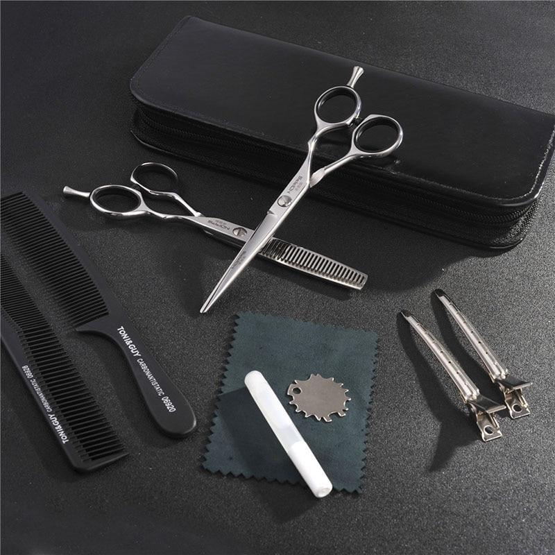 Купить с кэшбэком Professional Salon Barber Scissors High-End Hair Stylist's Professional Hairdressing Shears Haircut Tool Hair Styling Scissor
