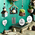 bedroom decor feng shui decoration bedroom decor room Wind chimes room decoration accessories Bell pendant birthday gift