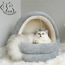 Sofa-Mats Indoor Beds Kennel Sleeping-Nest-Products Cat-House Cozy Cave Kittens Small